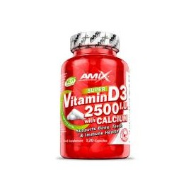 VITAMIN D3 2500IU WITH CALCIUM