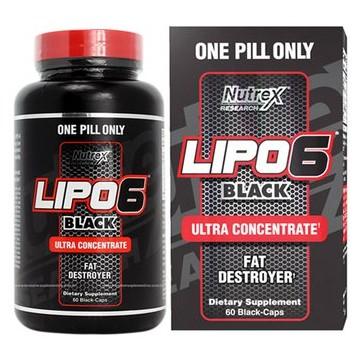 LIPO 6 BLACK 60CAPS ULTRA...