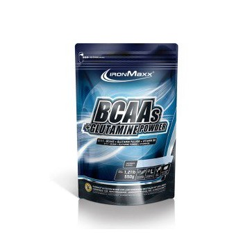 BCAA+GLUTAMINE POWDER 550 G...