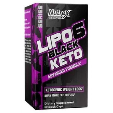 LIPO 6 BLACK KETO 60CAP