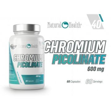 CHROMIUM PICOLINATE 600MG