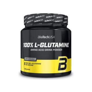100% L-GLUTAMINE 240GR