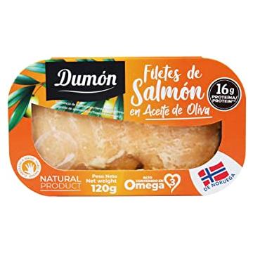 FILETES DE SALMON 120G