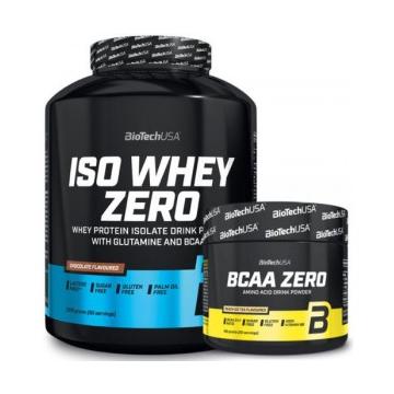 PACK ISO WHEY ZERO + BCAA 180G