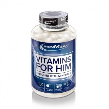 VITAMINS FOR HIM 100 CAP