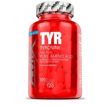 TYROSINE 120CAPS