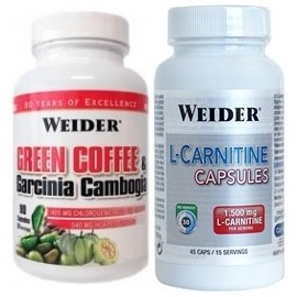 PACK GREEN COFFEE + L-CARNITINE