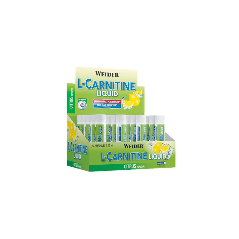 L-CARNITINE LIQUID AMPOLLAS 1800MG
