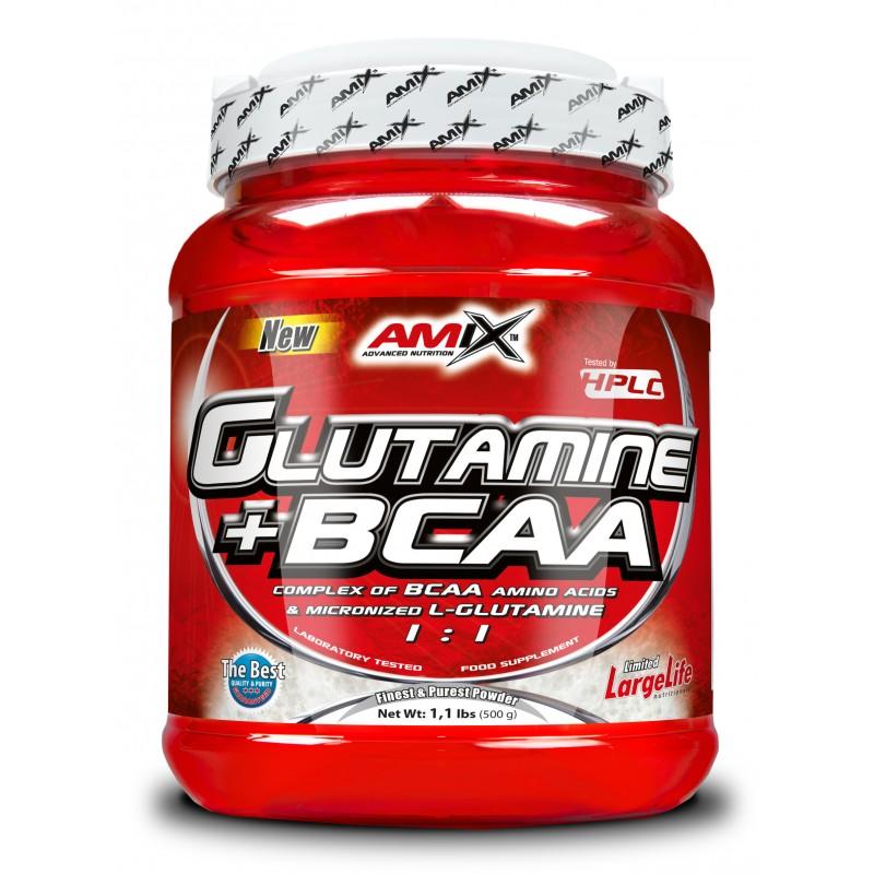 GLUTAMINE + BCAA 500G