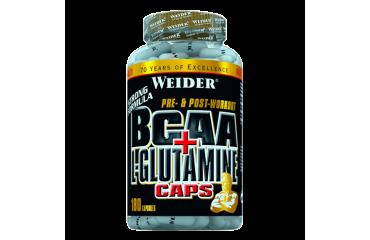 BCAA + L-GLUTAMINE 180 CAPS