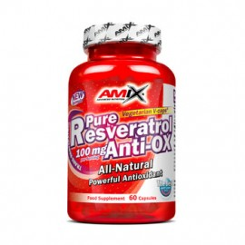 PURE RESERVATROL ANTI-OX 60 CAP