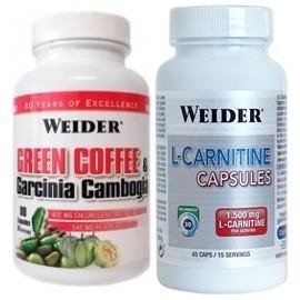 PACK GREEN COFFEE + L-CARNITINE