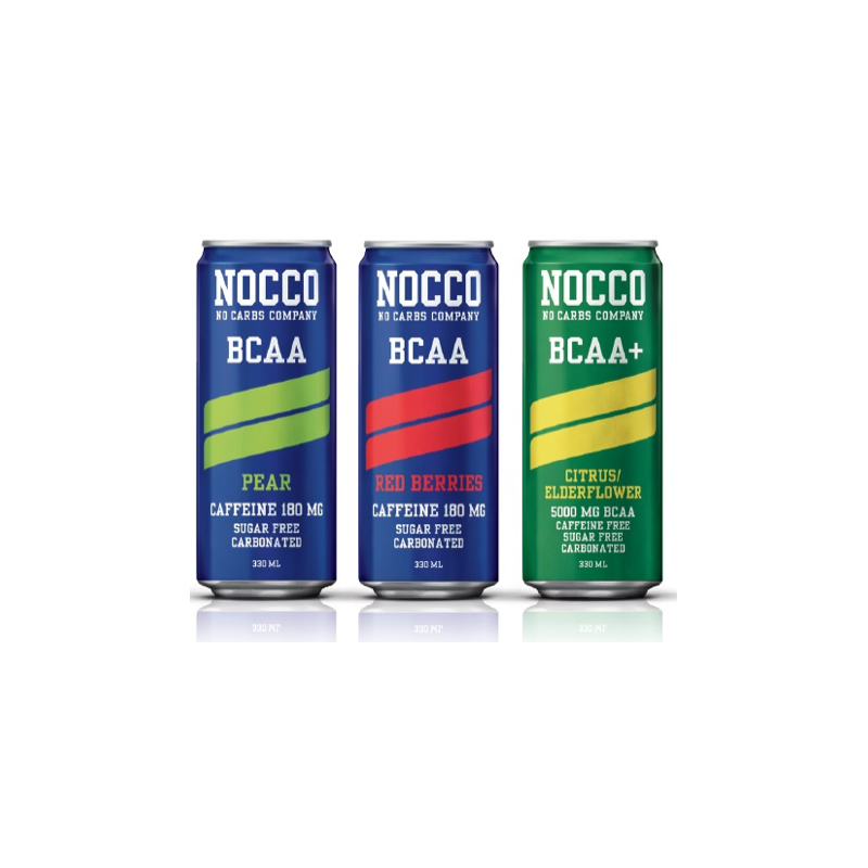 NOCCO BCAA DRINK 330ML
