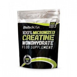 CREATINE 100% MICRONIZED BIOTECH 500GR
