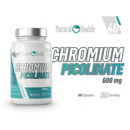 CHROMIUM PICOLINATE 600MG