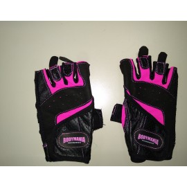 PINK/BLUE/BLACK GLOVES