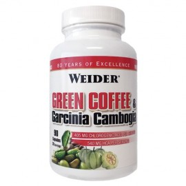GREEN COFFEE & GARCINIA CAMBOGIA 90CAPS