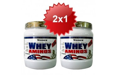 WHEY AMINOS 300 TABS (PACK DUO)