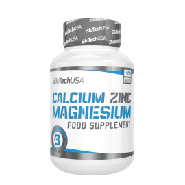 CALCIUM ZINC MAGNESIUM 100CAP