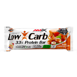 LOW CARB 33% PROTEIN BAR 60GR