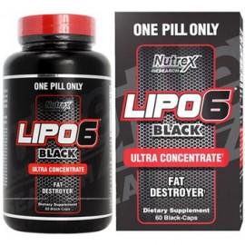 LIPO 6 BLACK 60CAPS ULTRA CONCENTRATE